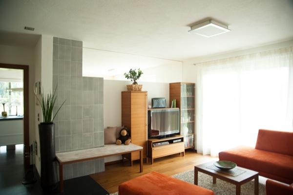 Wohnzimmer-Ruhe